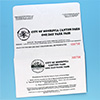 Pay Envelope w/ Hang Tag Receipt