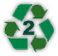 HDPE: 100% Recyclable